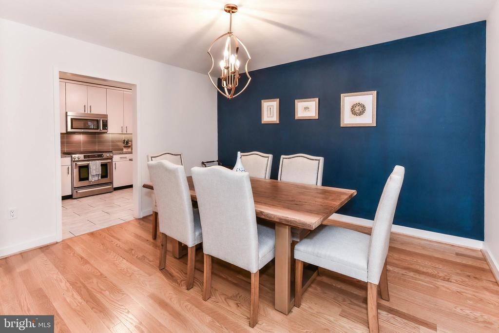 Elegant dining. - 3001 VEAZEY TER NW #508, WASHINGTON