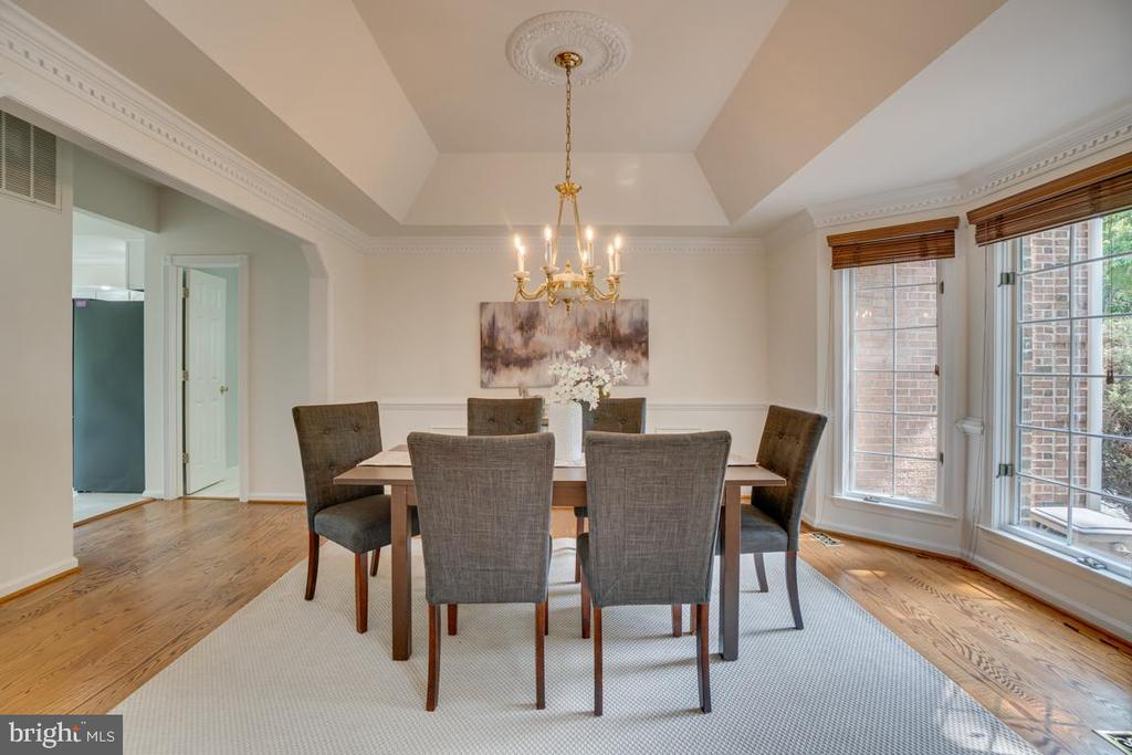 Spacious dining with room for entertaining - 320 IRONSIDE CV, STAFFORD
