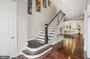 Foyer/Stairs Up - 6515 MANOR RIDGE CT, FALLS CHURCH