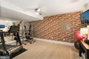 Lower Level-Workout room - 6515 MANOR RIDGE CT, FALLS CHURCH