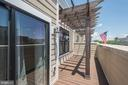 Balcony Off Master Bedroom - 43567 MICHIGAN SQ, LEESBURG
