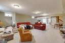 Basement Recreation Room - 3717 STONEWALL MANOR DR, TRIANGLE