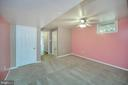 Lower level bedroom/walk in closet (NTC) - 6 BRANTFORD DR, STAFFORD