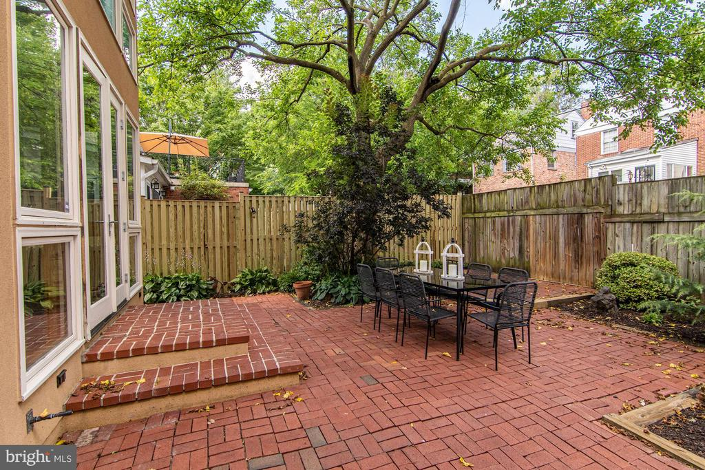 Rear Garden - 5335 43RD ST NW, WASHINGTON