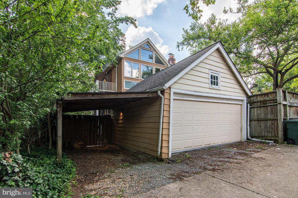 Two-Car Detached Garage - 5335 43RD ST NW, WASHINGTON