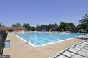 One of three community pools - 20810 AMBERVIEW CT, ASHBURN