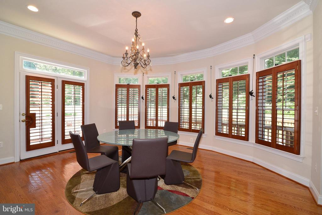 Breakfast Room - 6917 CHERRY LN, ANNANDALE