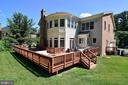 Oversized Deck - 6917 CHERRY LN, ANNANDALE