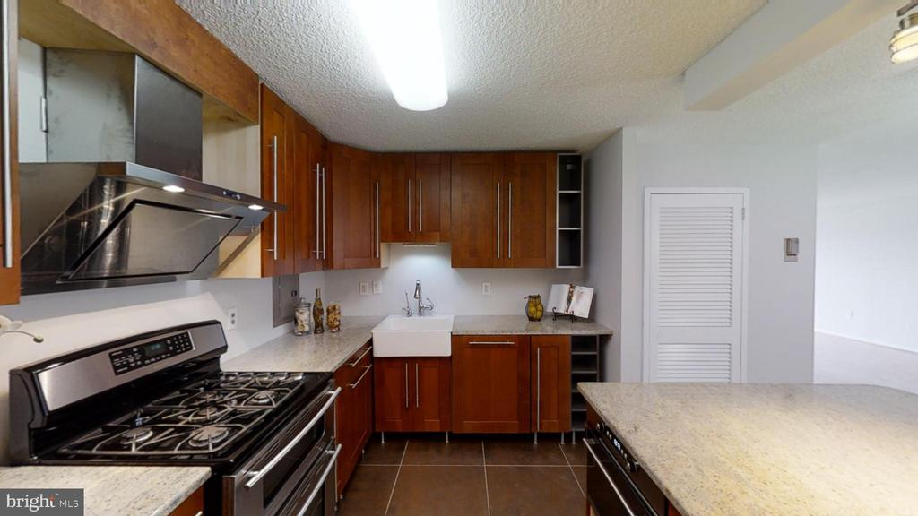 Beautiful kitchen renovation features gas cooking! - 1300 ARMY NAVY DR #907, ARLINGTON