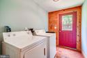 Mud room/Laundry room w/washer and dryer - 13533 CATOCTIN HOLLOW RD, THURMONT