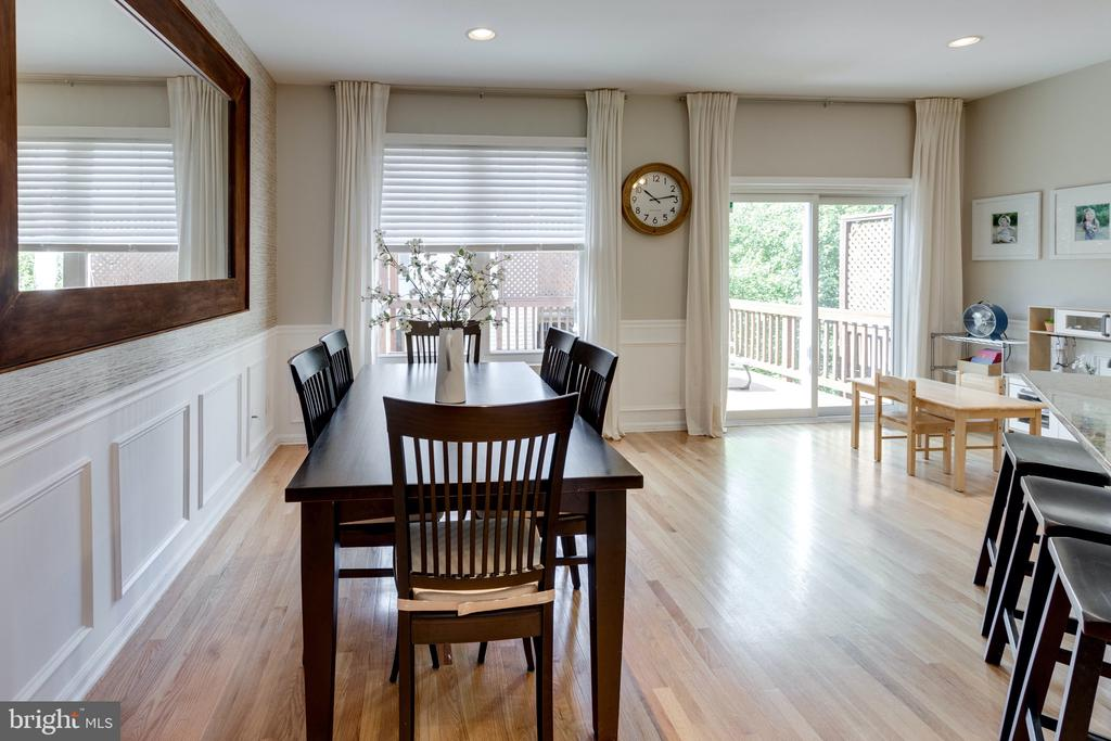Dining room - 42969 BEACHALL ST, CHANTILLY