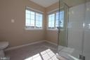 Master bathroom - 118 CLAUDE CT SE, LEESBURG