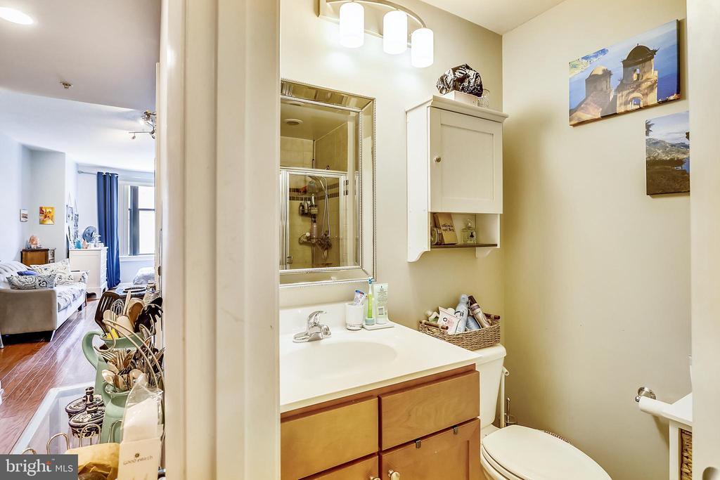 Bathroom - 400 MASSACHUSETTS AVE NW #604, WASHINGTON