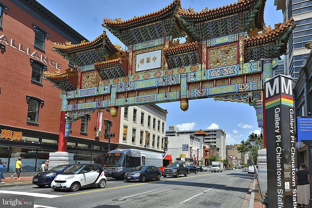 Chinatown Metro, Shops, Dining, Museums and more! - 400 MASSACHUSETTS AVE NW #604, WASHINGTON