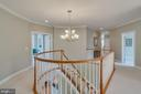 Upper hallway - 43559 FIRESTONE PL, LEESBURG