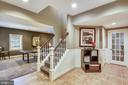 Lower level recreation room foyer - 9704 WOODFIELD CT, NEW MARKET