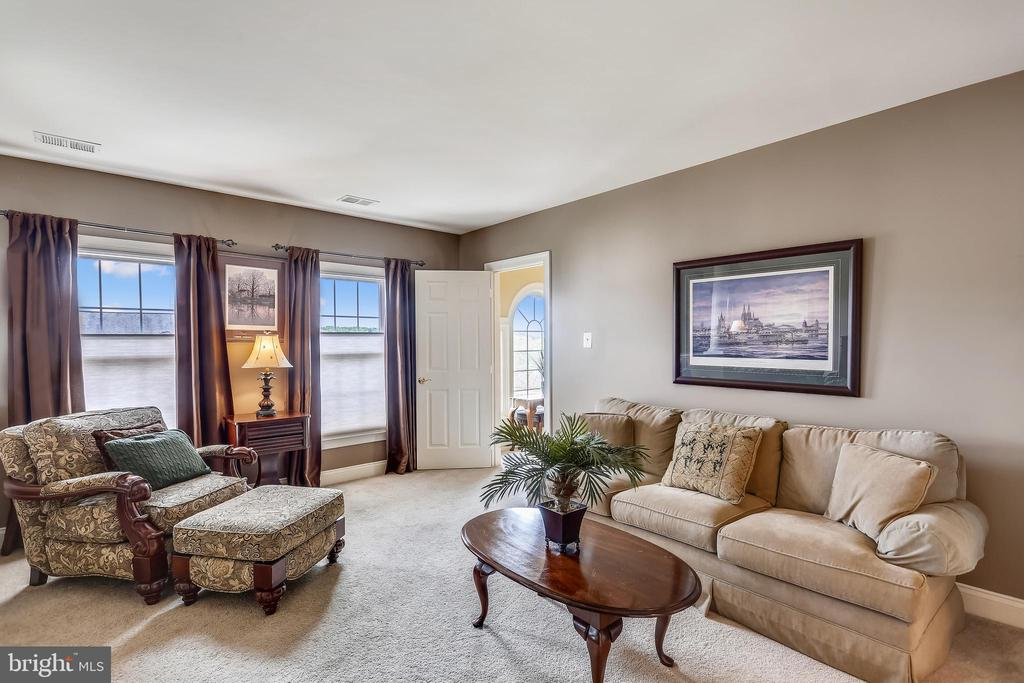 Master sitting room has 2nd door to the hallway - 9704 WOODFIELD CT, NEW MARKET