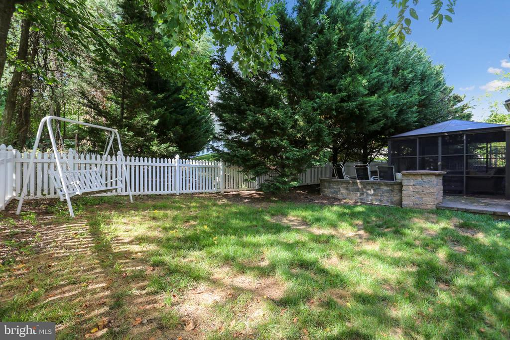 Backyard - 9704 WOODFIELD CT, NEW MARKET
