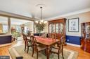 Formal dining room is open to the living room - 9704 WOODFIELD CT, NEW MARKET