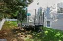 Gated fenced backyard - 9704 WOODFIELD CT, NEW MARKET