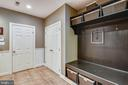 Lower level foyer has access to the garage - 9704 WOODFIELD CT, NEW MARKET