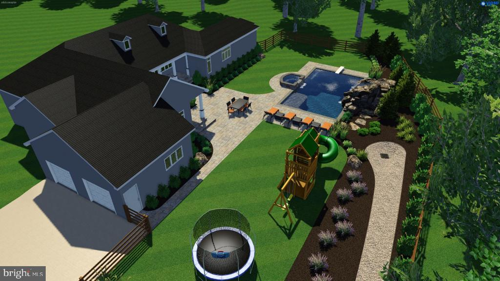 approved Pool design with Plans. - 20600 NORMAN PL, LEESBURG