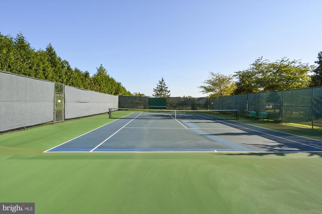 Community Tennis Courts - 6933 CUMBERSTONE PL, GAINESVILLE