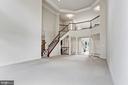 Great Room, stair and overlook - 4962 VALLEY VIEW OVERLOOK, ELLICOTT CITY
