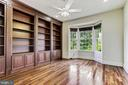Study w/ Library Built-in - 4962 VALLEY VIEW OVERLOOK, ELLICOTT CITY
