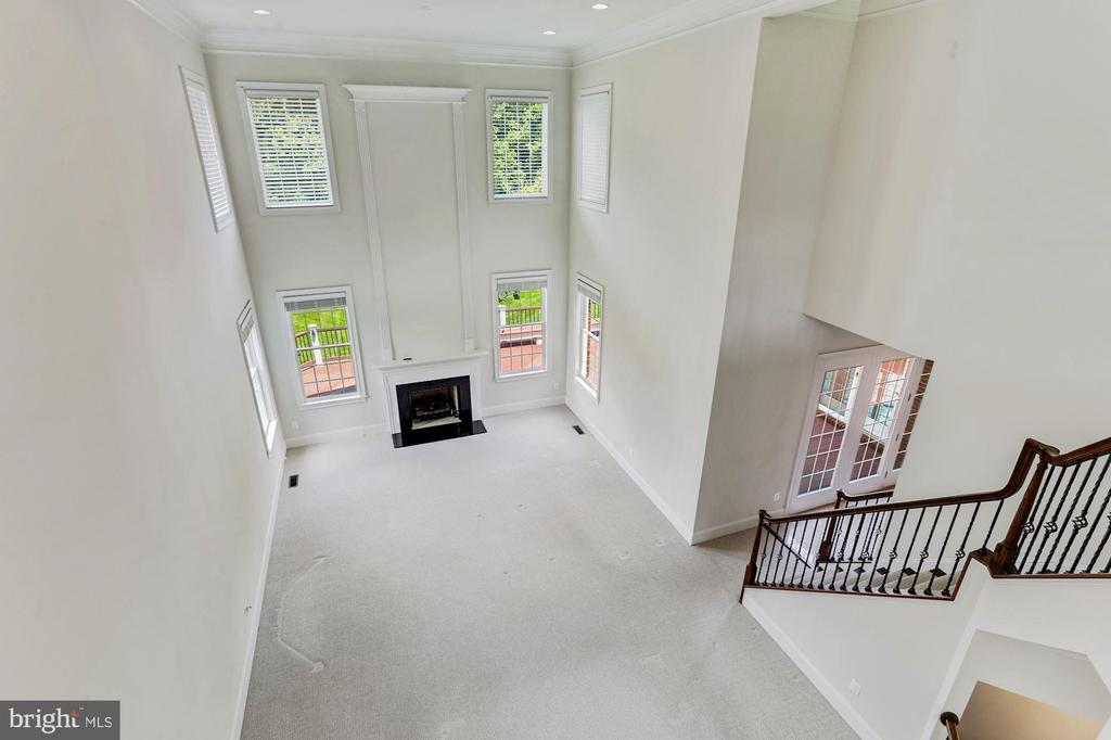 Great room and Back Stair - 4962 VALLEY VIEW OVERLOOK, ELLICOTT CITY