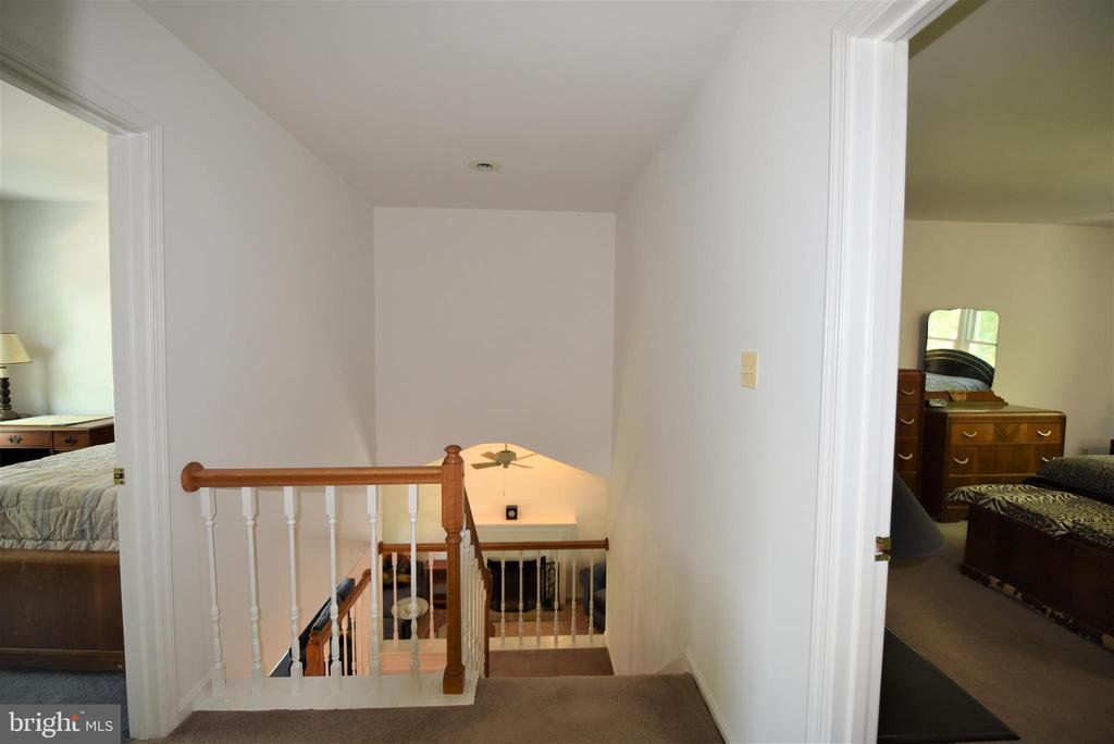 View from top of stairs - 720 DONALDSON LN SW, LEESBURG