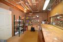 Basement workshop - 720 DONALDSON LN SW, LEESBURG