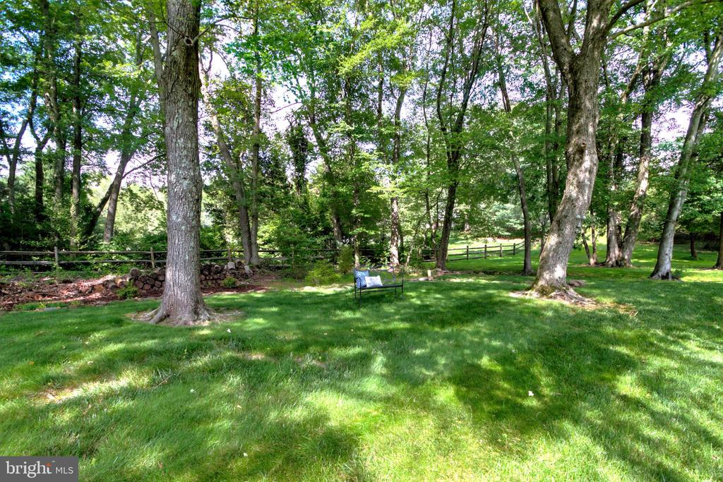 Huge Shady Side Yard - 1125 CLINCH RD, HERNDON