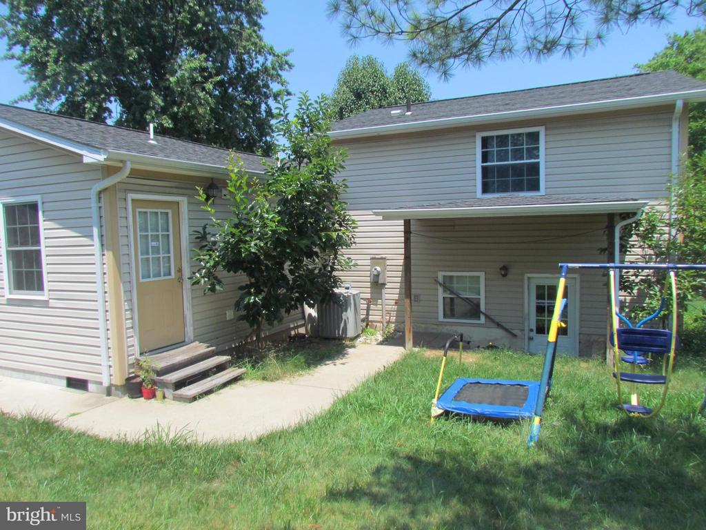 Rear View showing Entrance to left unit  & Lower - 1215 SUNRISE CT, HERNDON