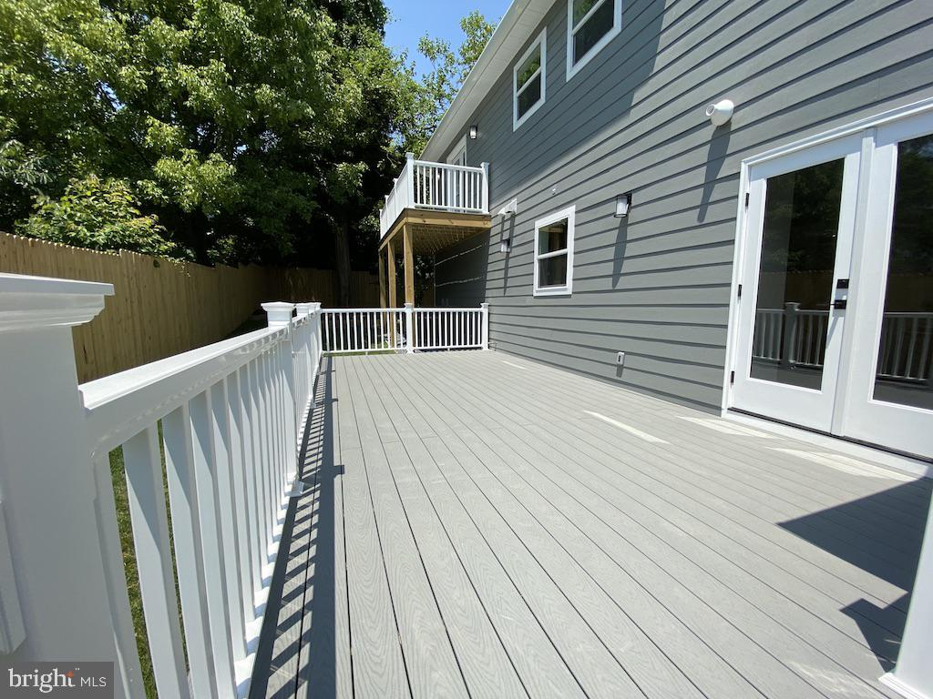 Rear Exterior Deck - 9000 2ND AVE, SILVER SPRING