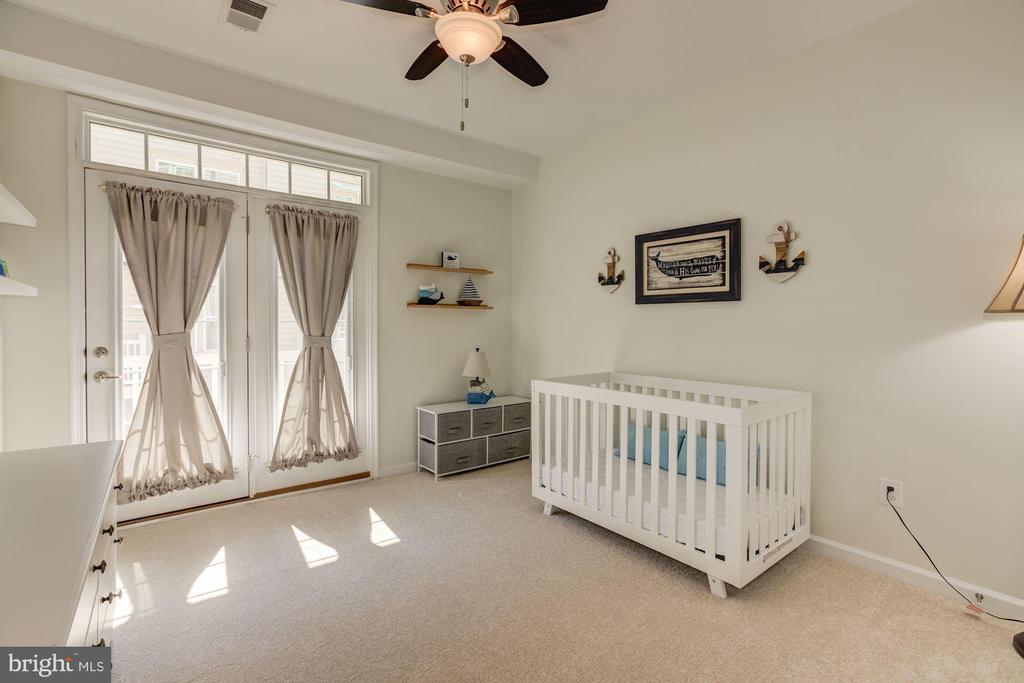 Secondary bedroom #2 has balcony access! - 14132 HARO TRL, GAINESVILLE
