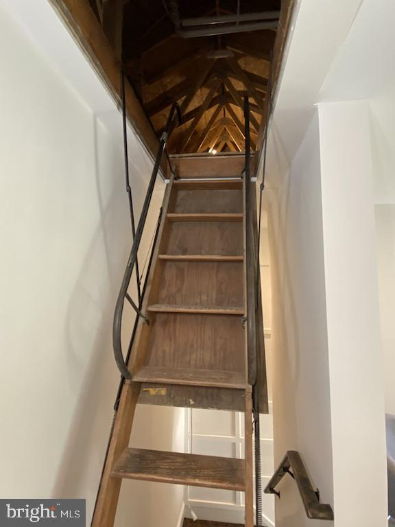 Attic Steps - 9000 2ND AVE, SILVER SPRING