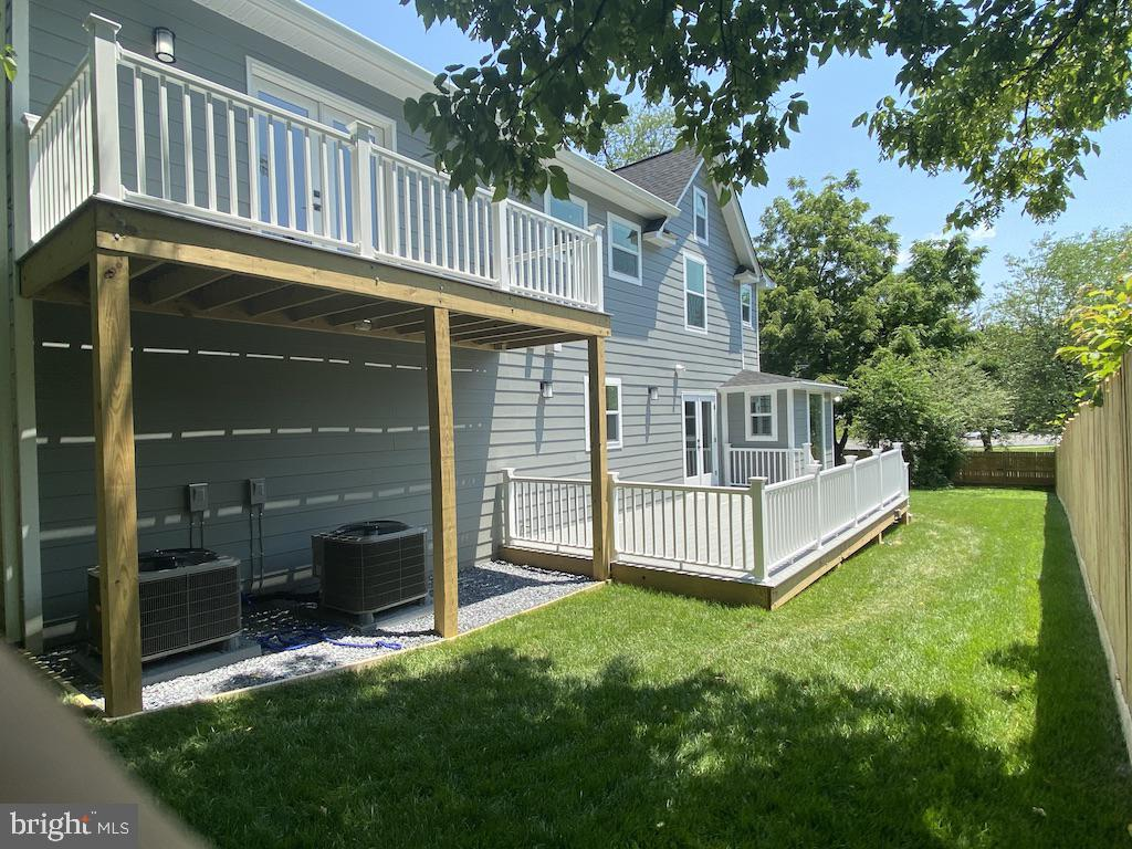 View of the Deck and Balcony - 9000 2ND AVE, SILVER SPRING