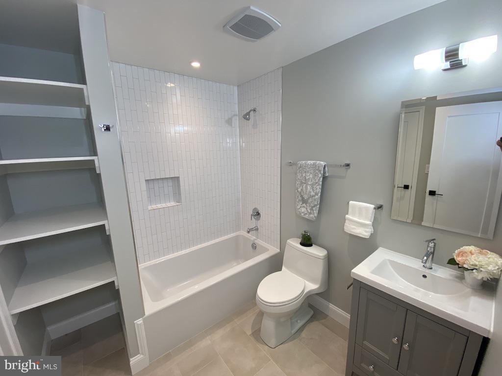 Lower Level Full Bathroom - 9000 2ND AVE, SILVER SPRING