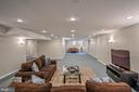 Expansive Recreation Room - 26124 TALAMORE DR, CHANTILLY
