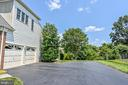 Asphalt Driveway w/ Extra Parking Pad - 26124 TALAMORE DR, CHANTILLY