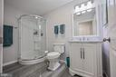 Remodeled Full Bath w/ New Vanity - 26124 TALAMORE DR, CHANTILLY