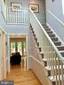 Foyer w/ New Banisters & Lovely Hardwood Floor - 1960 BARTON HILL RD, RESTON