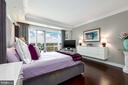 Expansive master bedroom with views - 1111 19TH ST N #2606, ARLINGTON