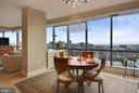 Separate dining with stunning chandelier - 2001 15TH ST N #1104, ARLINGTON
