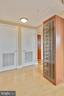 Custom built-in wine rack conveys! - 2001 15TH ST N #1104, ARLINGTON