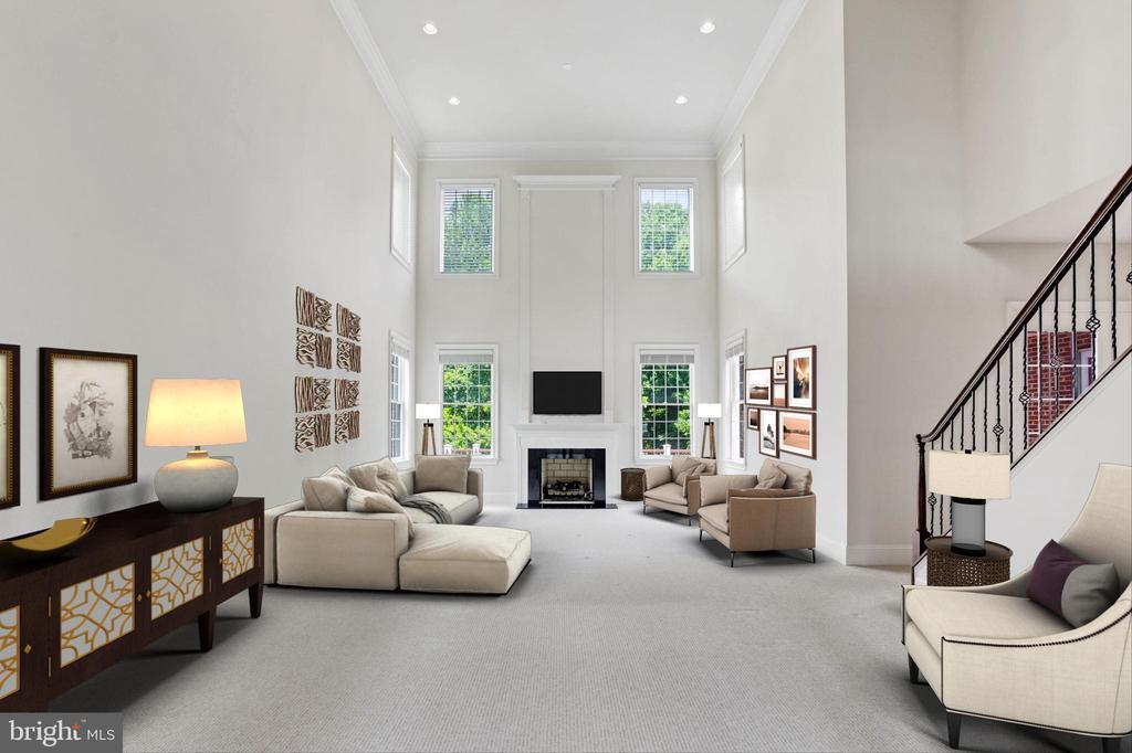 Great Room - 4962 VALLEY VIEW OVERLOOK, ELLICOTT CITY