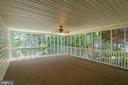 Large Screened Deck - 3714 FAIRWAYS CT, FREDERICKSBURG
