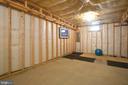 Unfinished basement storage room - 43217 BARNSTEAD DR, ASHBURN