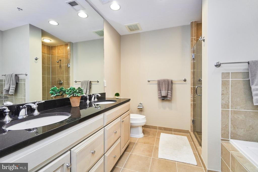 Master Bathroom with double vanity - 3625 10TH ST N #205, ARLINGTON